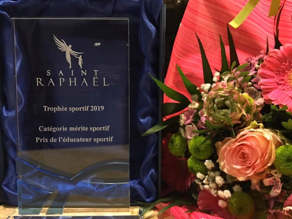 Trophée sportif 2019 - Laure-Anne VITELLI (11/2019)