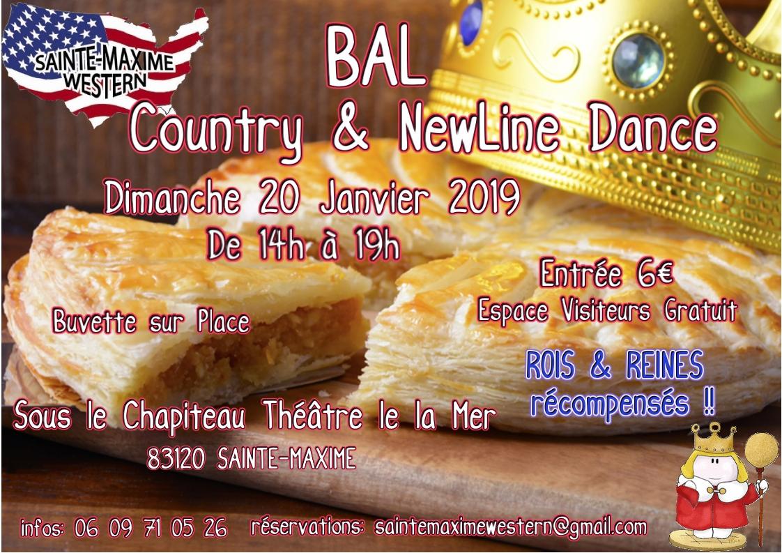 Affiche bal galette 20 janvier 2019