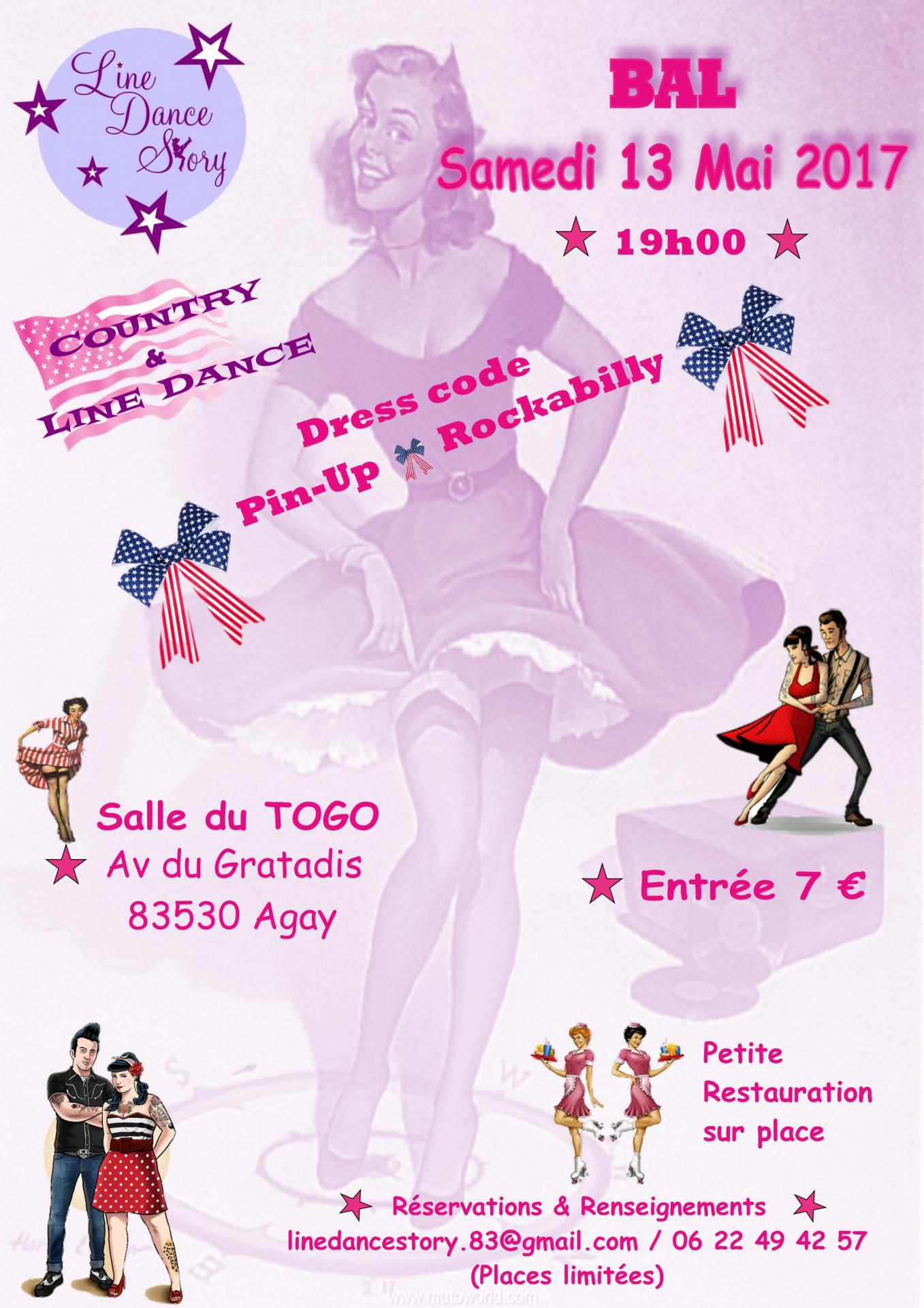 Affiche pin up 2017