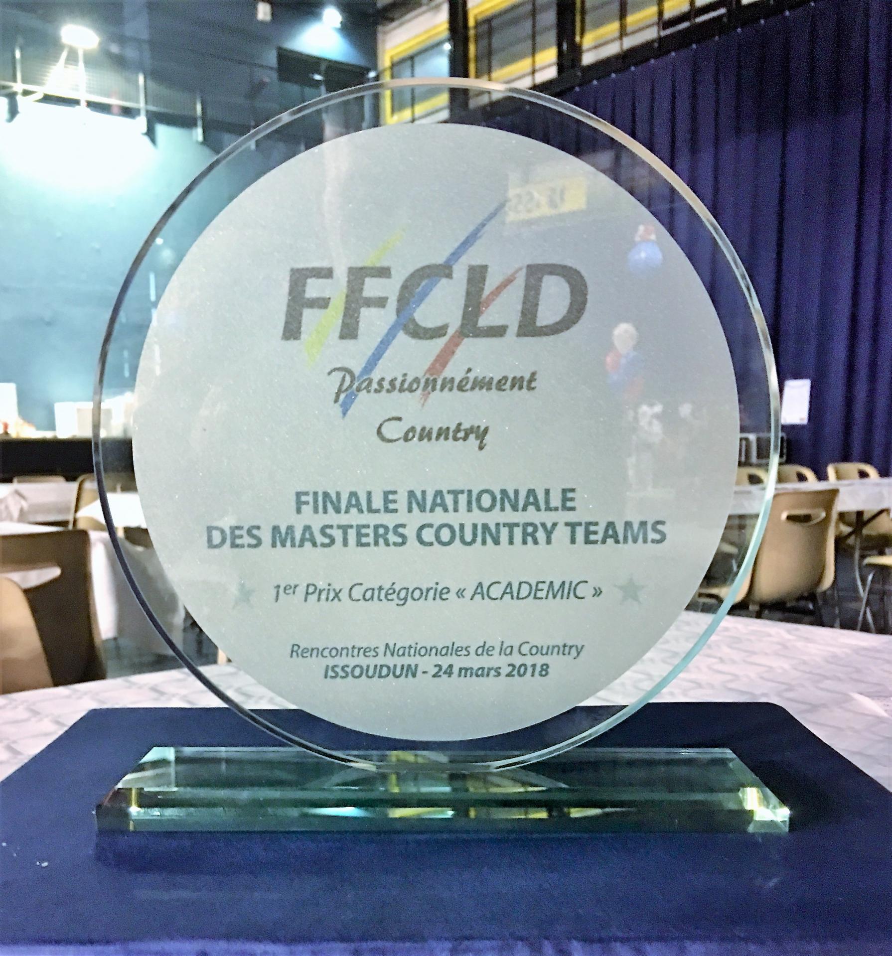 1ére place Rencontre National 2018