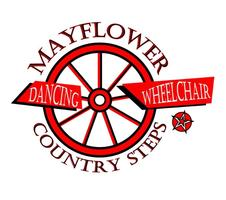Logo mayflower wheelchair dancing